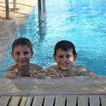 gianni and niko the nicest kids from the hotel :)