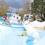 Aire de jeux aquatique Plijadur