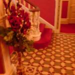 Hotel Entrance Hallway with Genuine Victorian Tiled Floor