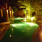 By night from Pool Villa