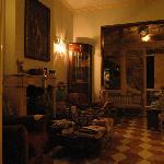 art nouveau style main room