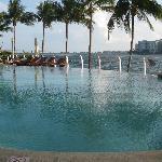 Hotel beach area
