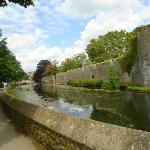 The Bishops Palace and Moat