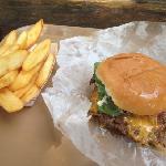"""A """"triple"""" burger"""