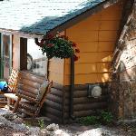 Cabin 10 the Daniel Boone cabin