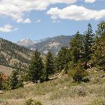 View from the hiking trail on the Pine Haven property
