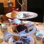 Divine afternoon tea at Kester House