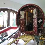 The Romany caravan in the Museum