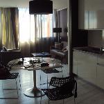 kitchen& living