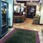"""""""Elevator Lobby"""" off the main lobby"""