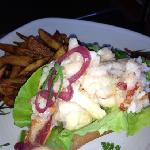 lobster roll was delicious