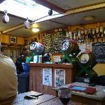 The bar on the Albatros