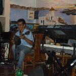 Greek musicians.. Greek nights... great fun....