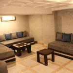 Suite Matthieu mezzanine area
