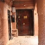 Entrance to Riad Charlott'