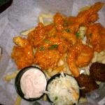 Buffalo shrimp meal