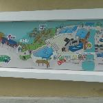 Aquarium map outside