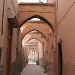 The little street the Dar is on