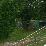 Compost à quelques mètres du tipi 5 places