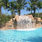 Waterfall in Main Pool