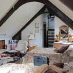 T'other end of the Attic family room