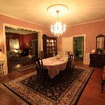 Formal dining room for breakfast