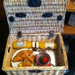 Your hand delivered complimentary breakfast