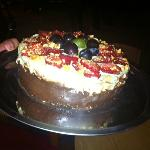 first gelato cake from Gelato Mio -10 May 2012, my bday cake!