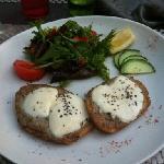 pain perdu de sardines mozzarelle fondu