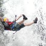 Adventure canyoning Zip line