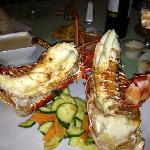The Villa Cofresi Hotel Restaurant great Angus Stakes, Sea Food, Wines and service!a