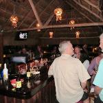 Bar las Iguanas with live music on weekends