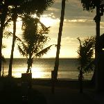 Sunset from Sheraton Fiji Resort