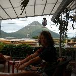Unbelievable view of Volcano Arenal, Never so clear!