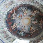 One of the many less famous domes/works of art in the Vatican.