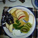 Kilnaboy cheeses with fruit