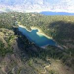 One of the pristine mountain lakes in the surrounding area you wouldn't otherwise see