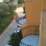 from our balcony, all rooms have balconies