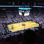 NBA final, game 5. June 21 2012. Miami Heat crowned champions