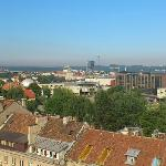 View towards old town from the roof
