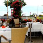 Terrace at Romantik Hotel Mont-Blanc Au Lac Photo