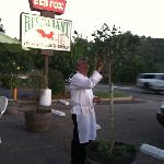 cook and owner of the restaurant nature friendly