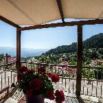 """View from """"Keratakia"""" balkony"""
