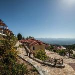 View from the villas