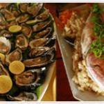 Fresh sustainable seafood.