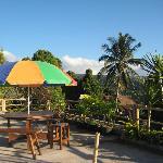 Karang Sari upper terrace (at street level)