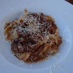Papardelle with boar