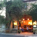 A beautiful rustic restaurant with really special food.