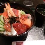 ランチのちらし寿司