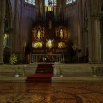Altar Mayor ,vista de pisos originales